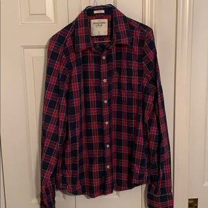 Men's Button-Down Dress Abercrombie Shirt
